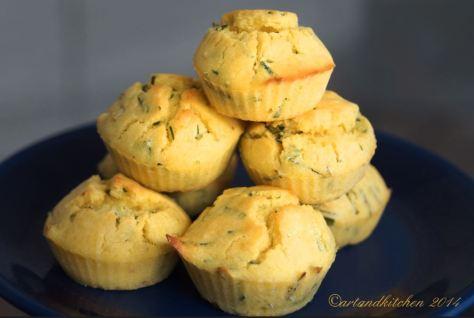 Culinary Quest Chive-Corn Muffins